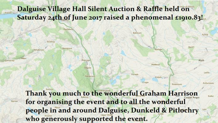 Dalguise Village Hall silent auction