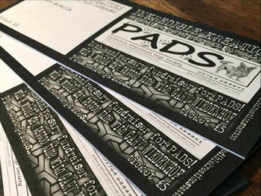 Inkredible Kreations raffle tickets